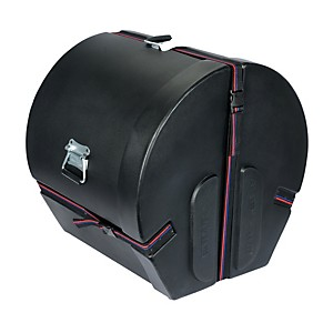 Humes---Berg-Enduro-Bass-Drum-Case-with-Foam-Black-14x18