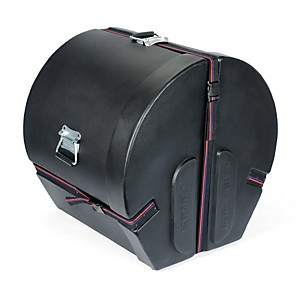 Humes---Berg-Enduro-Bass-Drum-Case-Black-14x18