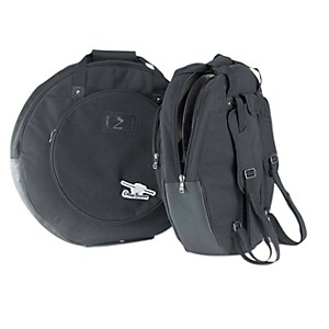 Humes---Berg-Drum-Seeker-Cymbal-Bag-with-Dividers-Black-22-Inch