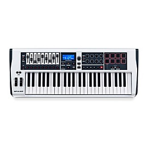 Novation-Impulse-49-MIDI-Controller---White-White