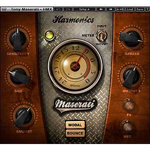 Waves-Maserati-HMX-Harmonics-Generator-Plug-in-Native-Software-Download-Standard
