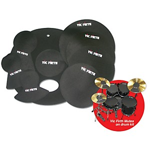 Vic-Firth-Drum-Mute-Pre-Pack-10--12--14--16----22--Hi-Hat----Cymbal--2-