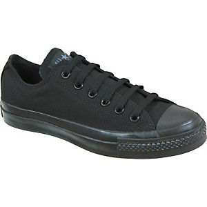 Converse-Chuck-Taylor-All-Star-Core-Oxford-Low-Top-Black-Mono-Mens-Size-10