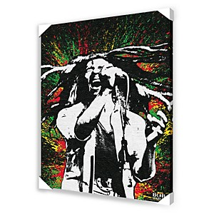Ace-Framing-Bob-Marley-Paint-Splash-Framed-Artwork-Standard