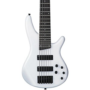 Ibanez-SR256-6-String-Bass-Guitar-Pearl-White