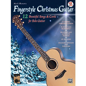 Alfred-Fingerstyle-Christmas-Guitar-Book---CD-Standard