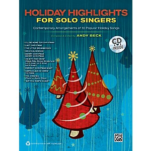 Alfred-Holiday-Highlights-for-Solo-Singers-Book---CD-Standard