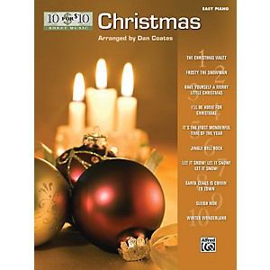 Alfred-10-for-10-Sheet-Music-Christmas-Easy-Piano-Book-Standard