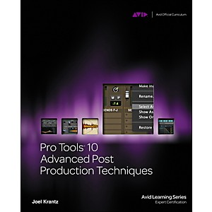 Cengage-Learning-Pro-Tools-10-Advanced-Post-Production-Techniques-Book-DVD-Standard