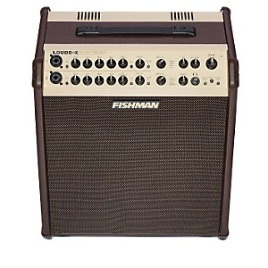 Fishman-Loudbox-Performer-180W-Acoustic-Guitar-Combo-Amp-w--Effects-Brown