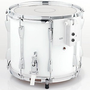 Yamaha-Power-Lite-Marching-Snare-Drum-White-Wrap-13-Inch