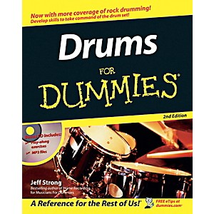 Mel-Bay-Drums-for-Dummies--2nd-Edition--Book-CD-Set-Standard