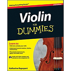 Mel-Bay-Violin-For-Dummies--Book-CD-Set-Standard