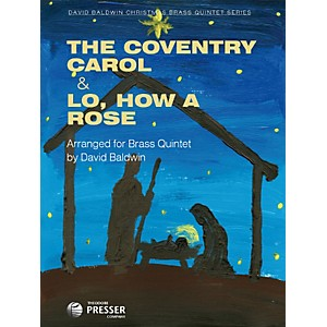 Theodore-Presser-The-Coventry-Carol---Lo--How-a-Rose--Book---Sheet-Music--Standard