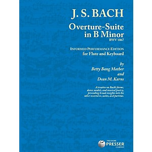 Theodore-Presser-Overture-Suite-In-B-Minor--Book---Sheet-Music--Standard
