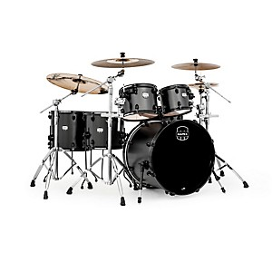 Mapex-MyDentity-5-Piece-Shell-Pack-Flat-Black-on-Flat-Black-Maple