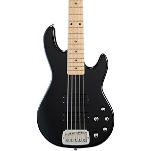 G-L-Tribute-M2500-5-String-Electric-Bass-Gloss-Black-Maple-Fretboard