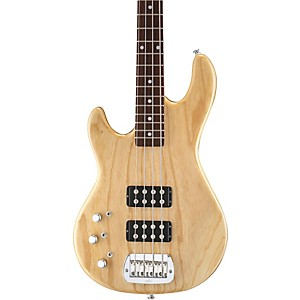 G-L-Tribute-L2000-Left-Handed-Electric-Bass-Guitar-Natural-Gloss-Rosewood-Fretboard