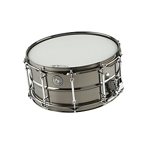 Taye-Drums-MetalWorks-Brass-Snare-Drum-with-Vintage-Style-Tube-Lugs-Black-Nickel-14x6-5