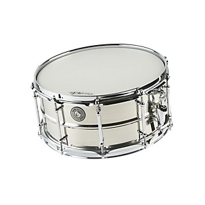 Taye-Drums-MetalWorks-Stainless-Steel-Snare-Drum-with-Vintage-Style-Tube-Lugs-14x6-5