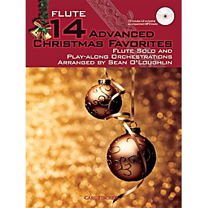Carl-Fischer-14-Advanced-Christmas-Favorites--Book---CD--Standard
