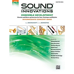 Alfred-Sound-Innovations-Concert-Band-Ensemble-Development-Electric-Bass-Book-Standard