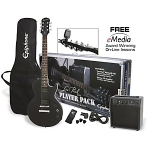 Epiphone-Les-Paul-Electric-Guitar-Player-Pack-Ebony