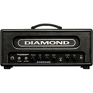 Diamond-Amplification-Assassin-Vanguard-Series-22W-Tube-Guitar-Amp-Head-Black