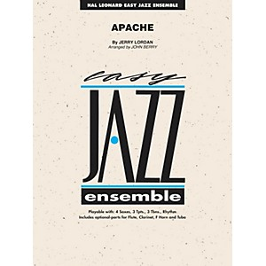 Hal-Leonard-Apache---Easy-Jazz-Ensemble-Series-Level-2-Standard