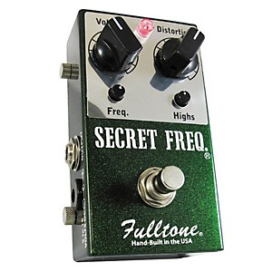 Fulltone-Secret-Frequency-Overdrive-Distortion-Guitar-Effects-Pedal-Standard