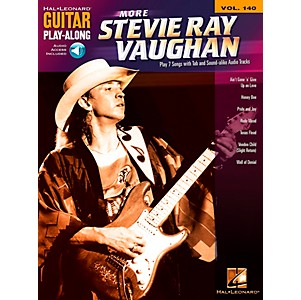 Hal-Leonard-More-Stevie-Ray-Vaughan---Guitar-Play-Along-Volume-140-Book-CD-Standard