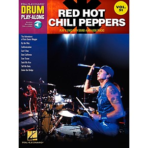 Hal-Leonard-Red-Hot-Chili-Peppers-Drum-Play-Along-Vol--31--Book-CD--Standard