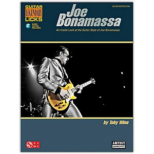 Cherry-Lane-Joe-Bonamassa-Legendary-Licks-Book-CD-Standard