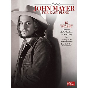 Cherry-Lane-Best-Of-John-Mayer-For-Easy-Piano-Standard