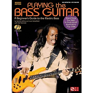 Cherry-Lane-Playing-The-Bass---A-Beginner-s-Guide-to-the-Electric-Bass-Revised-Edition-Book-CD-Standard