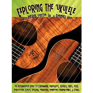 Alfred-Exploring-the--Ukulele-Book-By-Daniel-Ho-Standard
