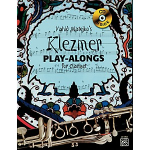 Alfred-Vahid-Matejko-s-Klezmer-Play-Alongs-for-Clarinet-Book---CD-Standard