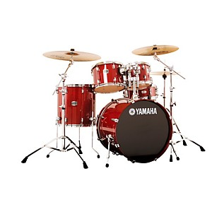 Yamaha-2013-Stage-Custom-Birch-5-Piece-Drum-Set-with-20--Bass-Drum-Cranberry-Red