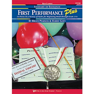 KJOS-First-Performance-Plus-Bflat-Bass-Clarinet-Book-Standard