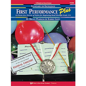 KJOS-First-Performance-Plus-Eflat-Baritone-Saxophone-Book-Standard