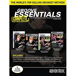 Hudson-Music-Tommy-Igoe-Groove-Essentials-Complete-Book-DVD-Set-Standard