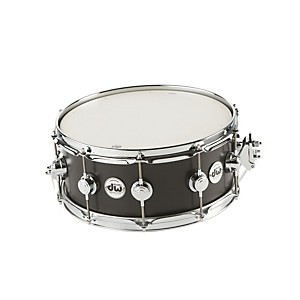 DW-Collector-s-Series-Satin-Oil-Snare-Drum-Ebony-with-Chrome-Hardware-6x14