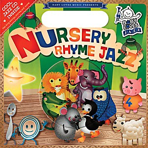 Penguin-Books-Baby-Loves-Jazz-Nursery-Rhyme-Jazz-Book---CD-Standard