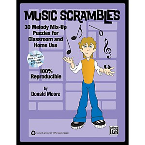 Alfred-Music-Scrambles-Book---CD-Standard