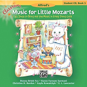 Alfred-Classroom-Music-for-Little-Mozarts--Student-CD-Book-3-Standard