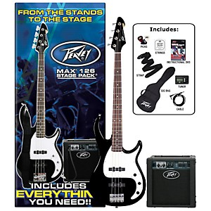 Peavey-Max-Electric-Bass-Value-Pack-Black