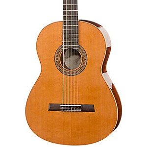 Hofner-Solid-Cedar-Top-Rosewood-Body-Classical-Acoustic-Guitar-High-Gloss-Natural