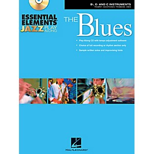 Hal-Leonard-Essential-Elements-Jazz-Play-Along---The-Blues--B-Flat--E-Flat--and-C-Instruments--Book-CD-Standard