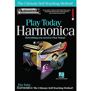 Hal-Leonard-Play-Today-Harmonica-Complete-Kit--Book-CD-DVD-Harmonica--Standard