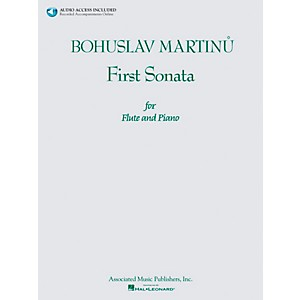 Associated-Bohuslav-Martinu-First-Sonata-for-Flute-and-Piano-Book-CD-Standard